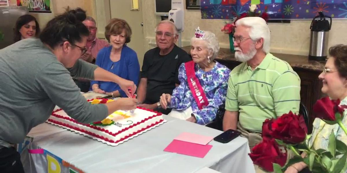 Former teacher, longtime Tylerite celebrates 100 years of life with friends, family