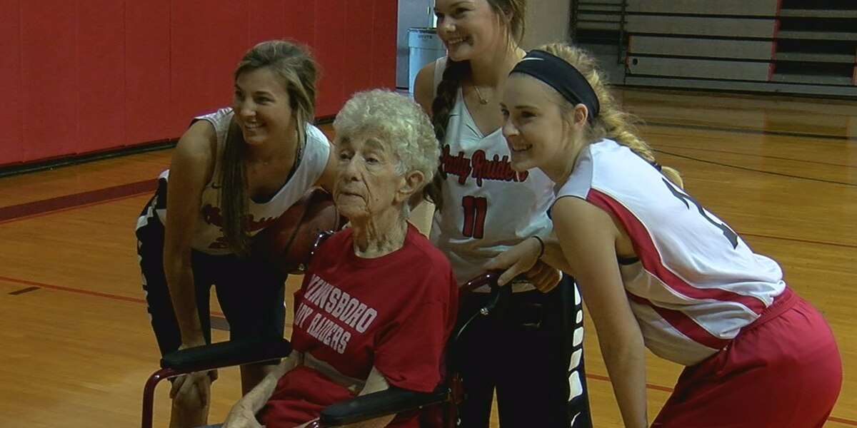 One year after stroke, Winnsboro high school basketball fan recovers to make game-winning pass