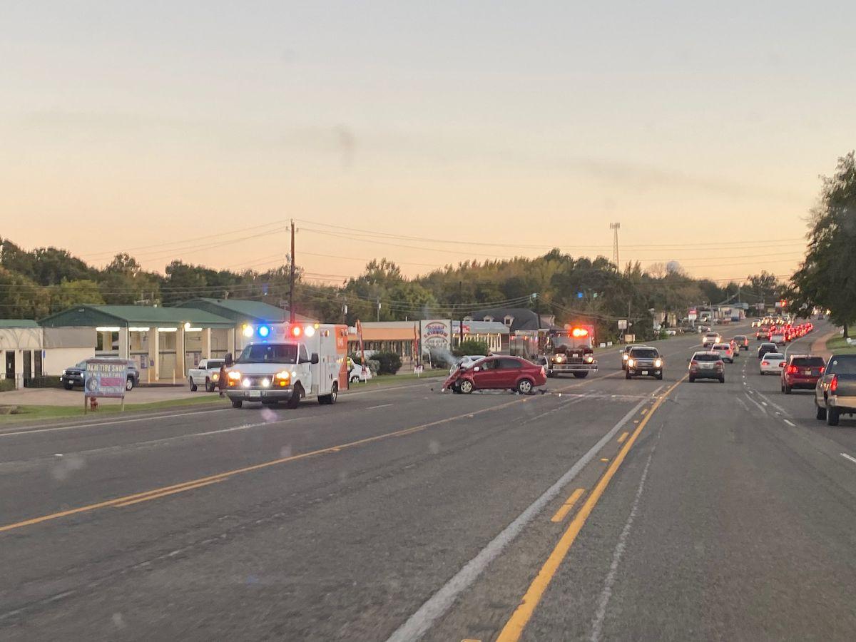 TRAFFIC ALERT: Crews responding to crash on Highway 110 in Whitehouse