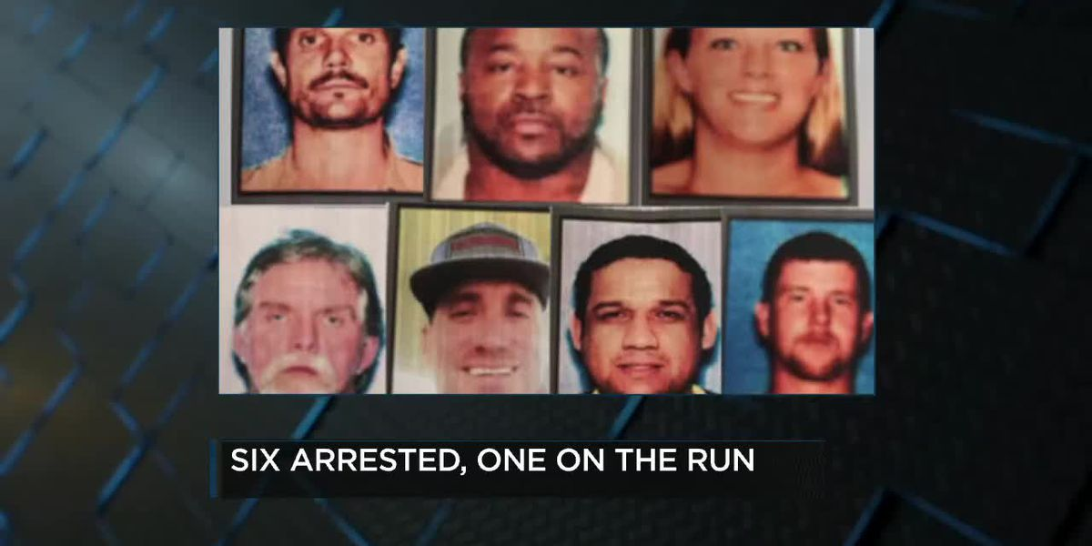 6 arrested, 1 still on the run after FBI raid in Hughes Springs area