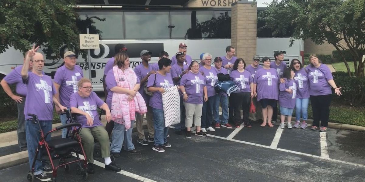 WEBXTRA: Longview's Mobberly Baptist Church hits road for annual special needs camp