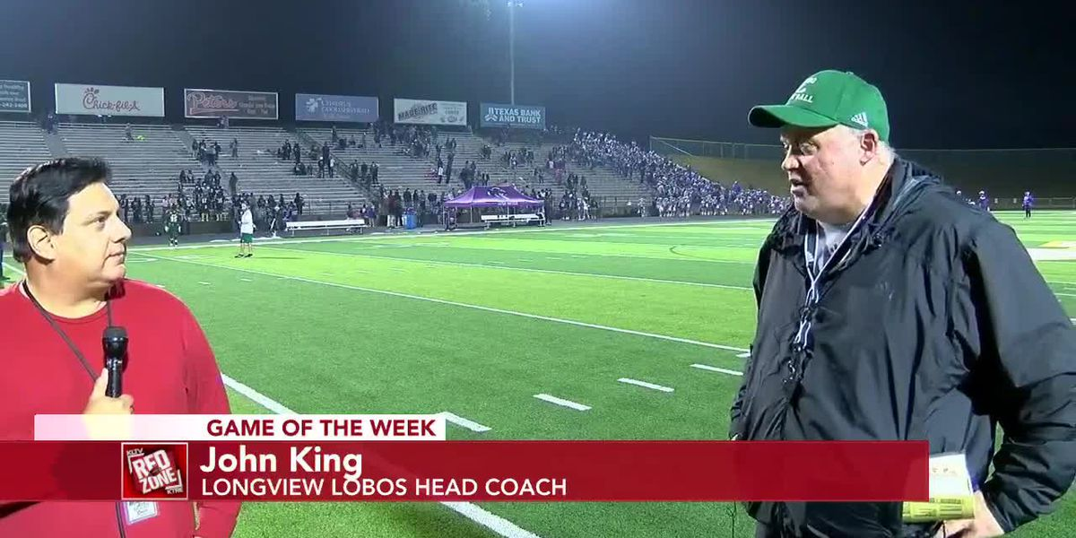 2020 Week 16 Coach Interview: Longview Head Football Coach John King