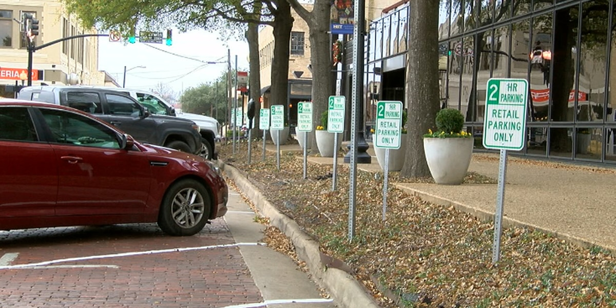 Organizer: New parking on downtown Tyler square hints at revitalization plans