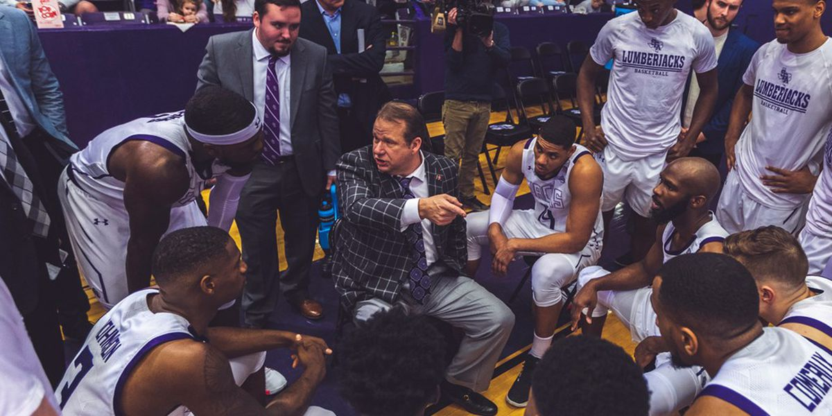 SFA basketball schedules set... for now