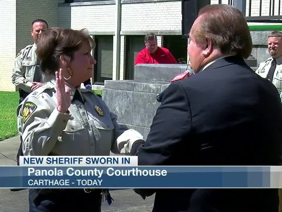 Sarah Fields sworn in as new Panola County sheriff
