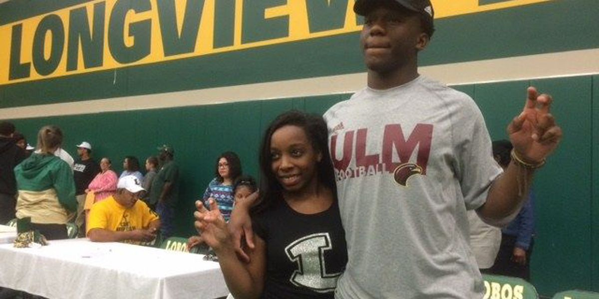 Longview DB Traveion Webster signs with ULM