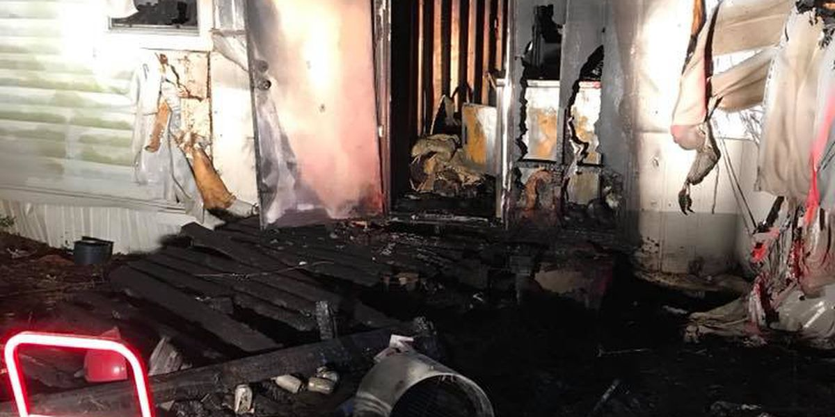 Mobile home destroyed in Harrison County after early morning fire