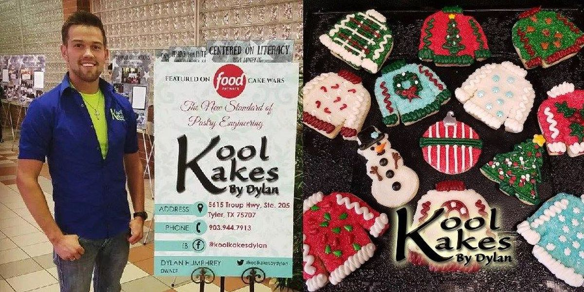 East Texas Cake Artist Wins Food Network S Christmas Cookie Challenge