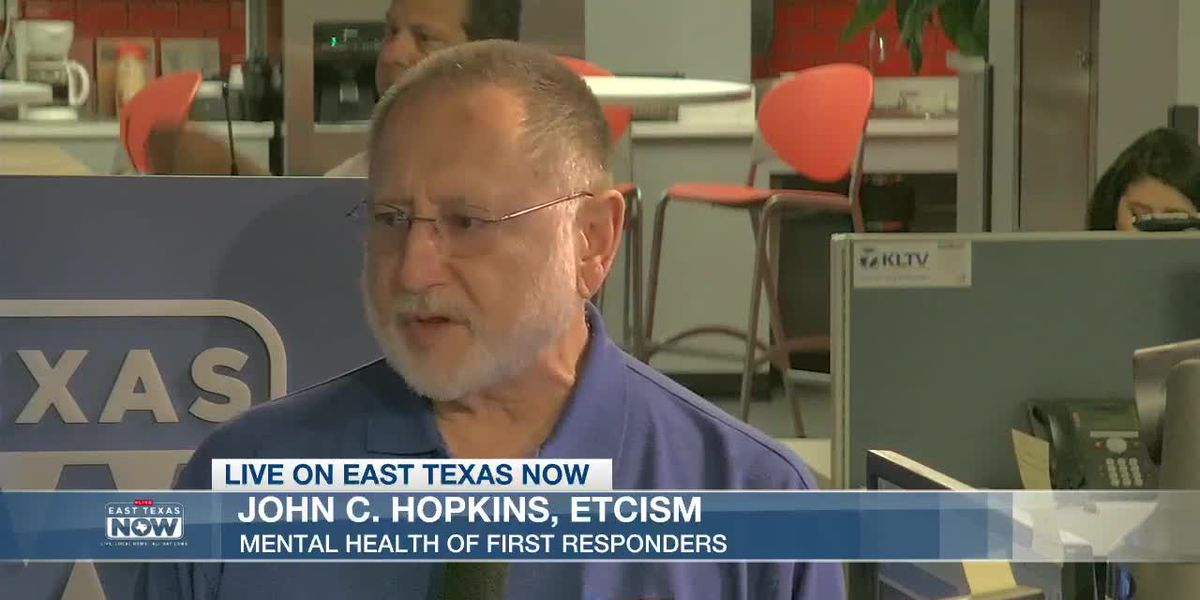 WATCH: Counselor John Hopkins discusses first responders, mental health - VOD