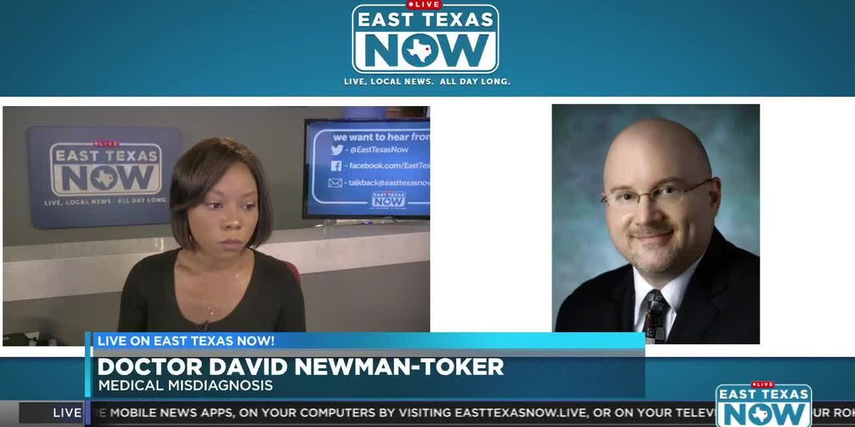 Doctor chats with East Texas Now about medical misdiagnosis study