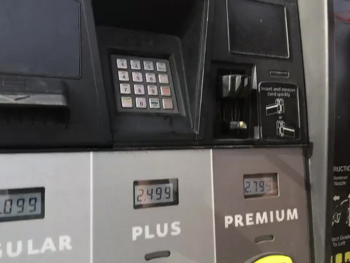 WEBXTRA: Gas prices have dropped in Tyler, East Texas