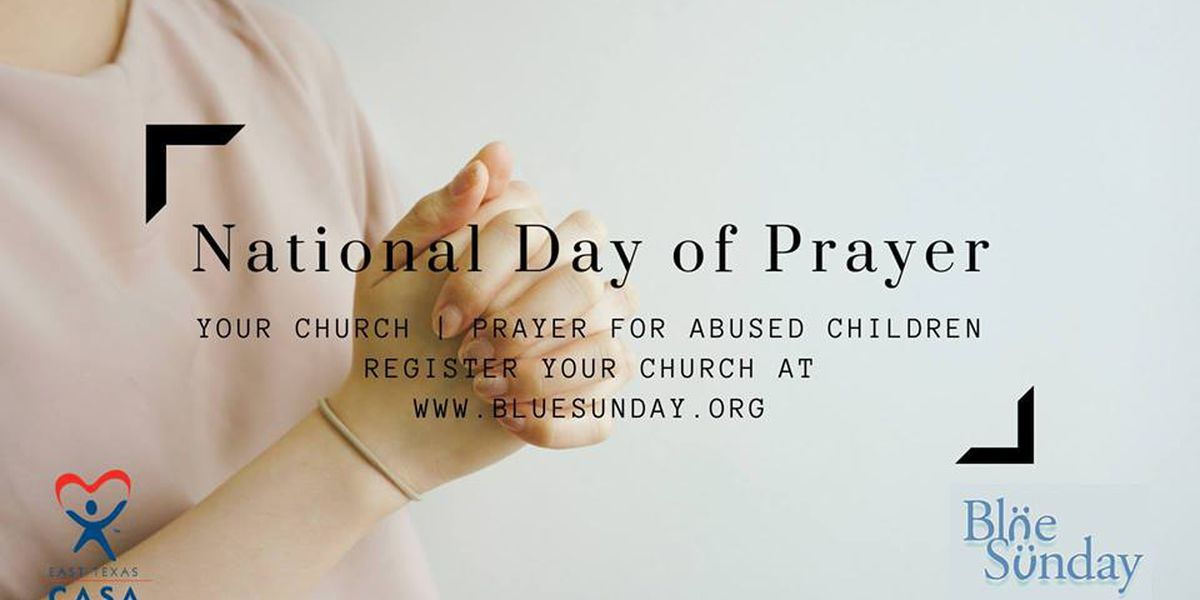 "Call for churches to pray for children facing abuse on ""Blue Sunday"""