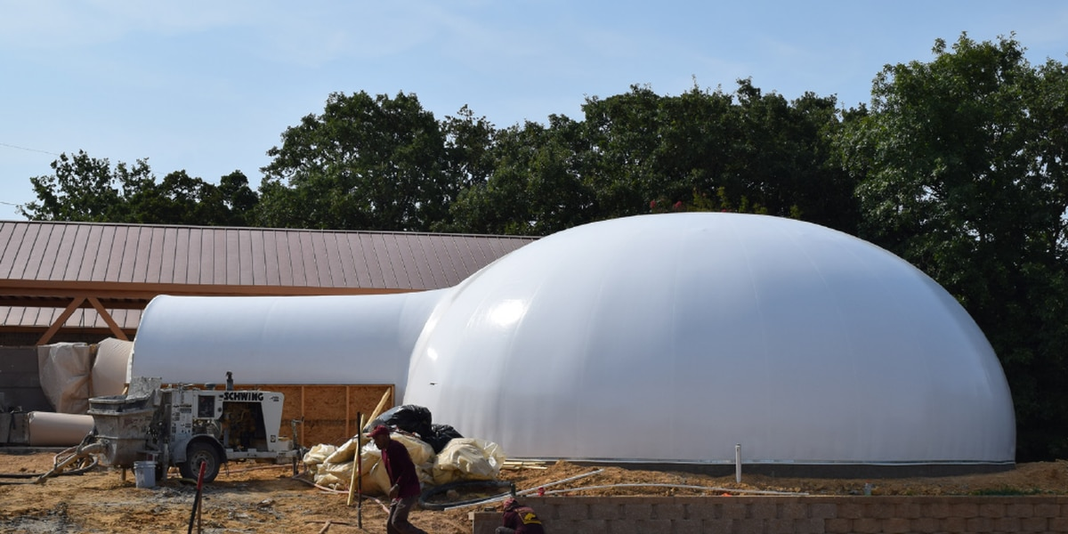 Monolithic dome to serve as engaging new science classroom at All Saints Episcopal School