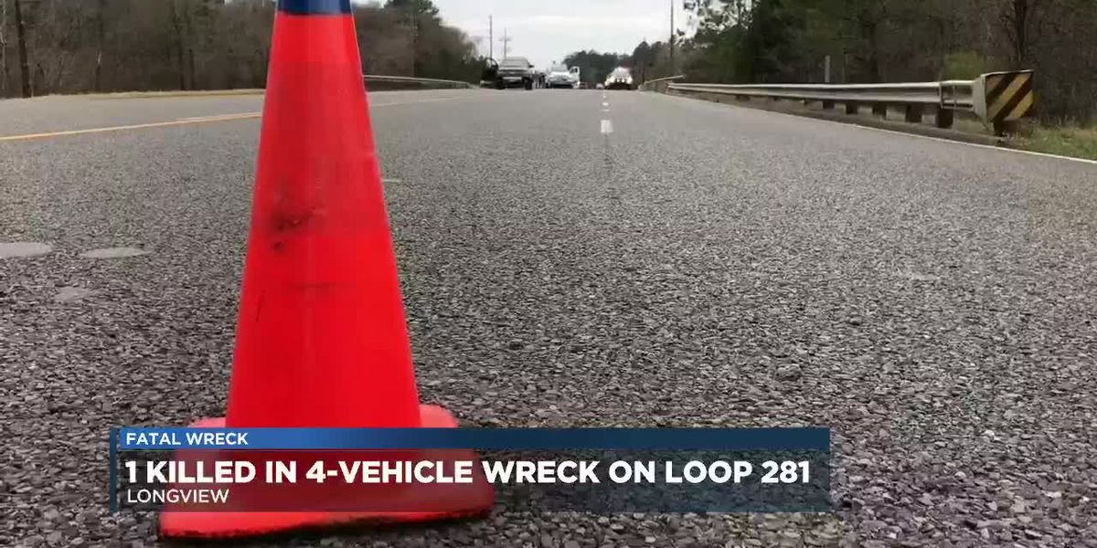 Loop 281 back open after deadly 4-vehicle wreck in Longview