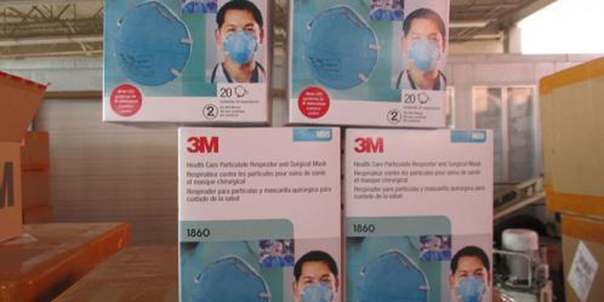 Federal agents seize more than 100,000 counterfeit N95 masks in Texas