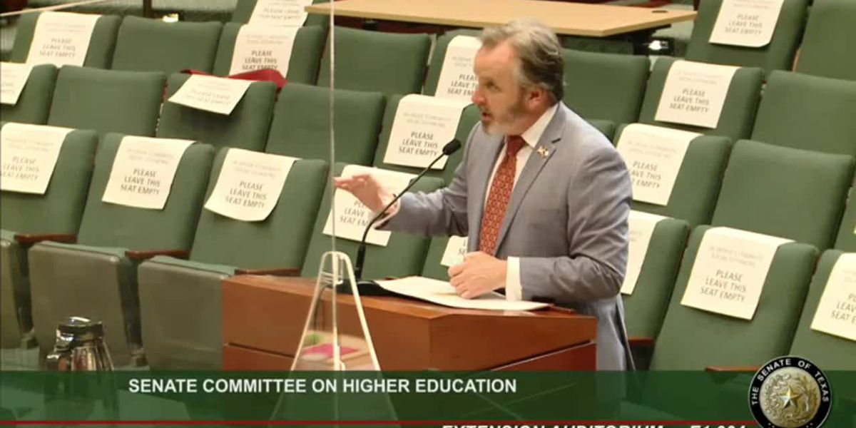 WATCH: Sen. Hughes lays out bill to improve transparency for flat-rate tuitions