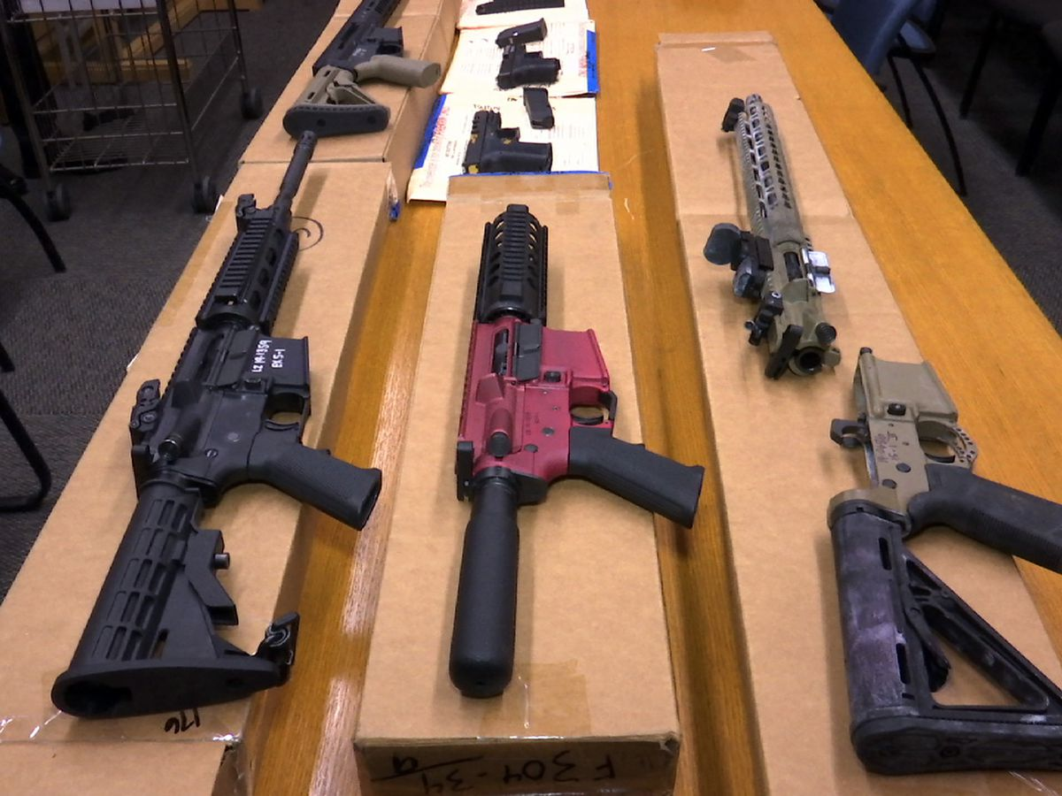 Justice Department rule would aim to crack down on 'ghost guns'