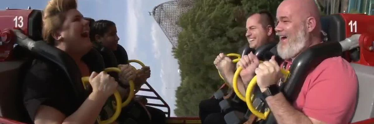 WATCH: We take Six Flags' new ride, El Diablo, for a spin