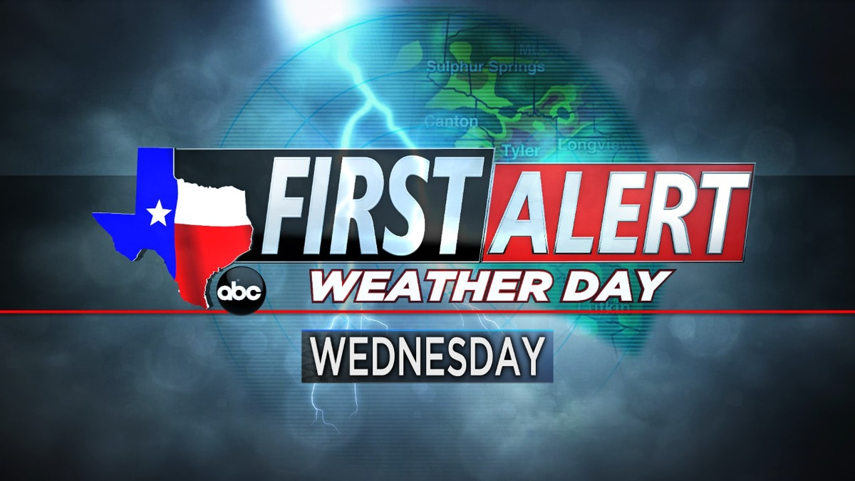 First Alert Weather Day in effect for Wednesday
