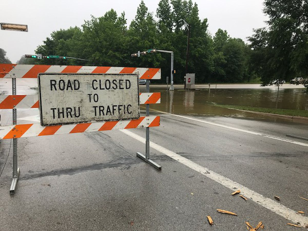 Storms, flooding cause Longview road closures