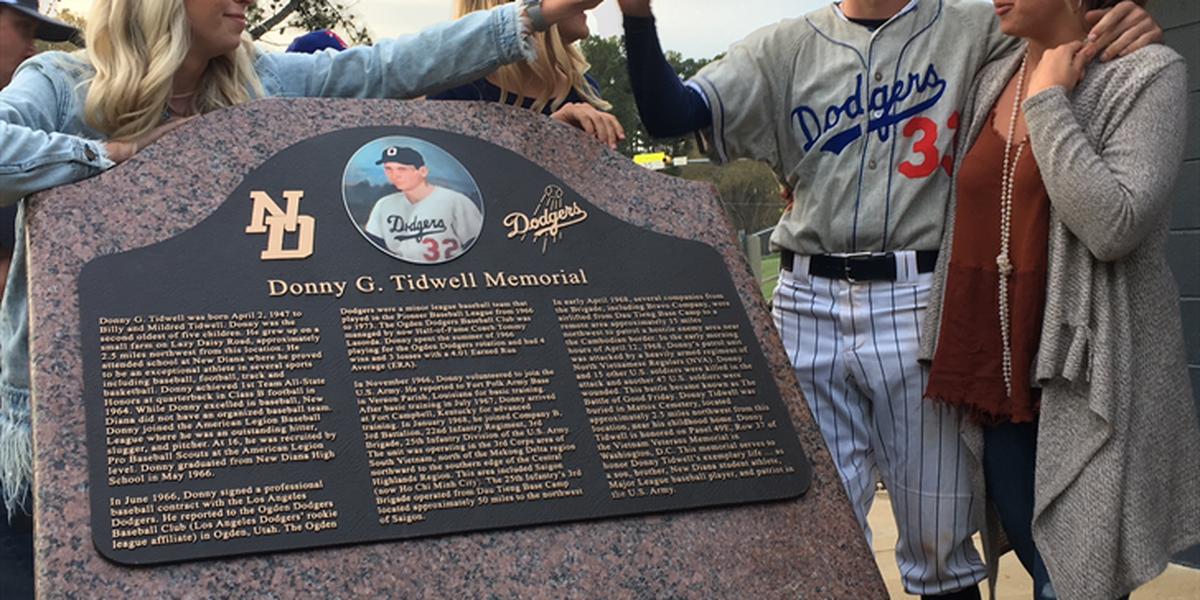 Ballfield dedication ceremony honored East Texan killed in Vietnam
