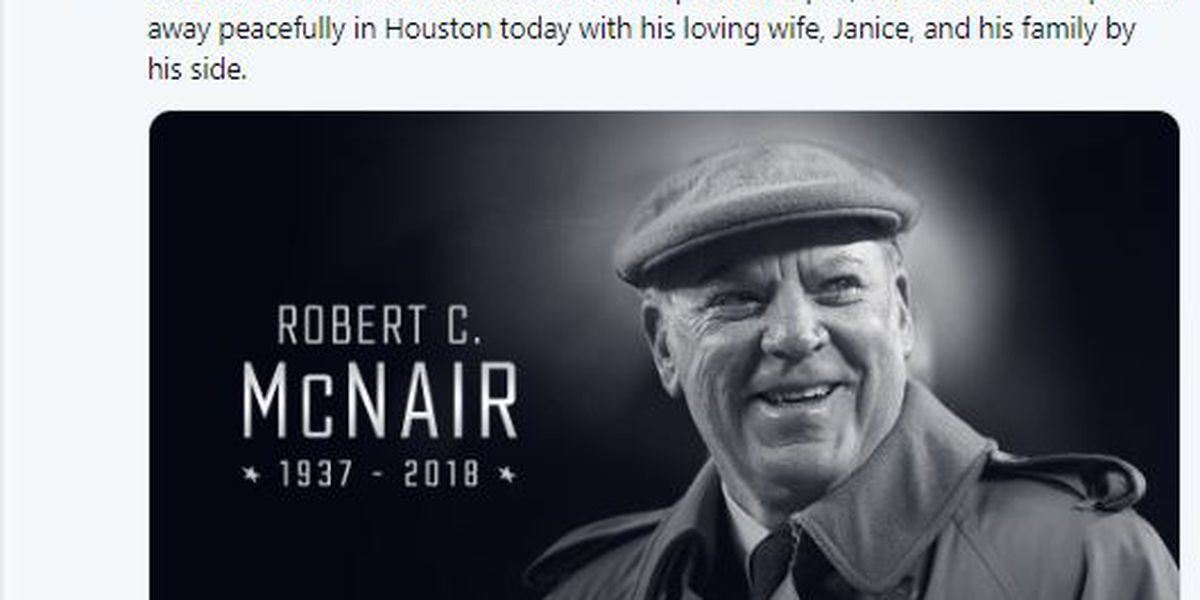 Houston Texans founder, CEO dies