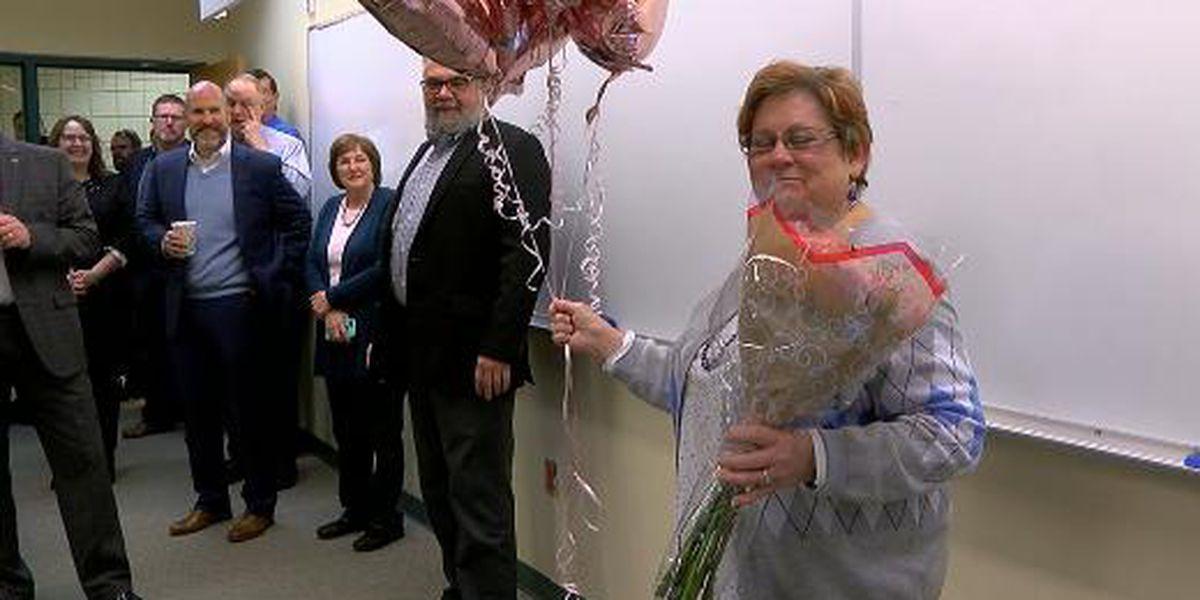 Longview professor starting her 100th semester of teaching
