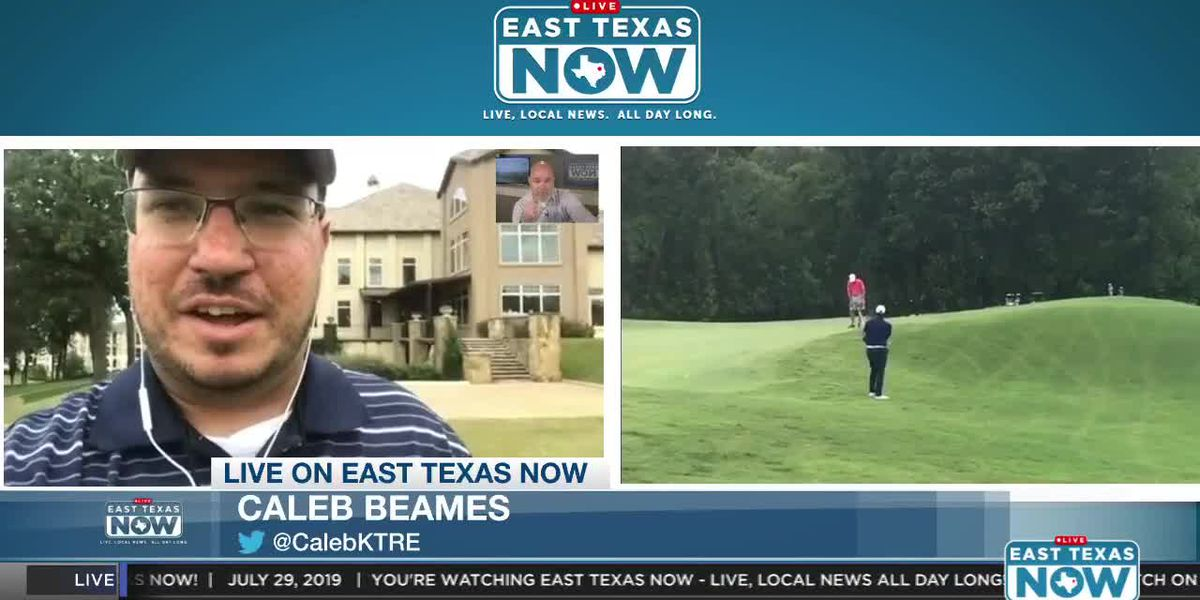 EAST TEXAS NOW INTERVIEWS: Tony Romo practices for Texas State Open golf tournament