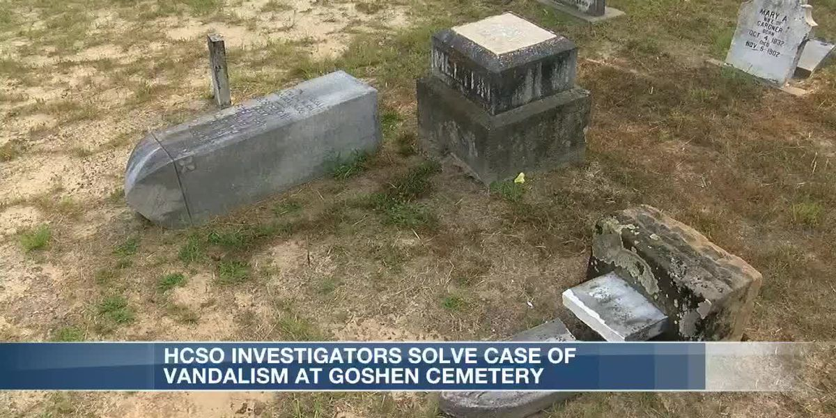 Cemetery Vandals Arrested