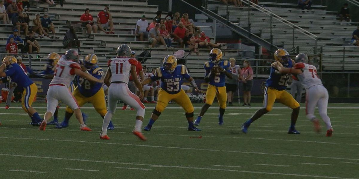 Chapel Hill's Cameron Ford selected for the Week 1 Red Zone Player Spotlight