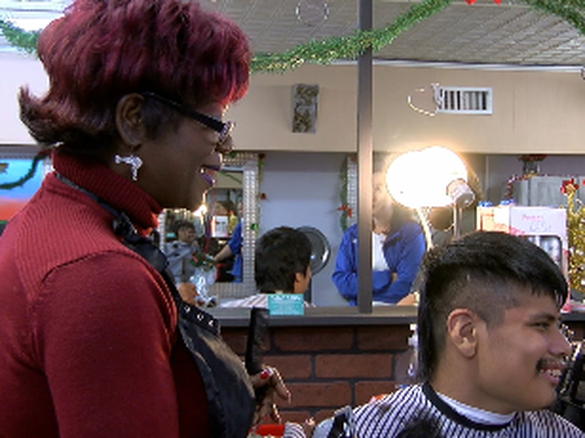 Free haircuts for people with special needs at salon in Tyler