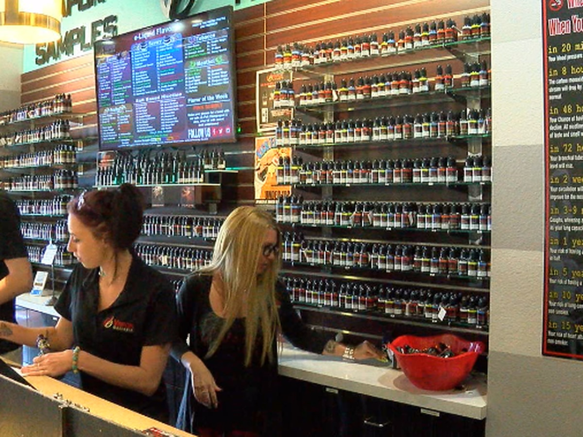 East Texas vape store employees weigh in on potential ban on e-cigarette flavors