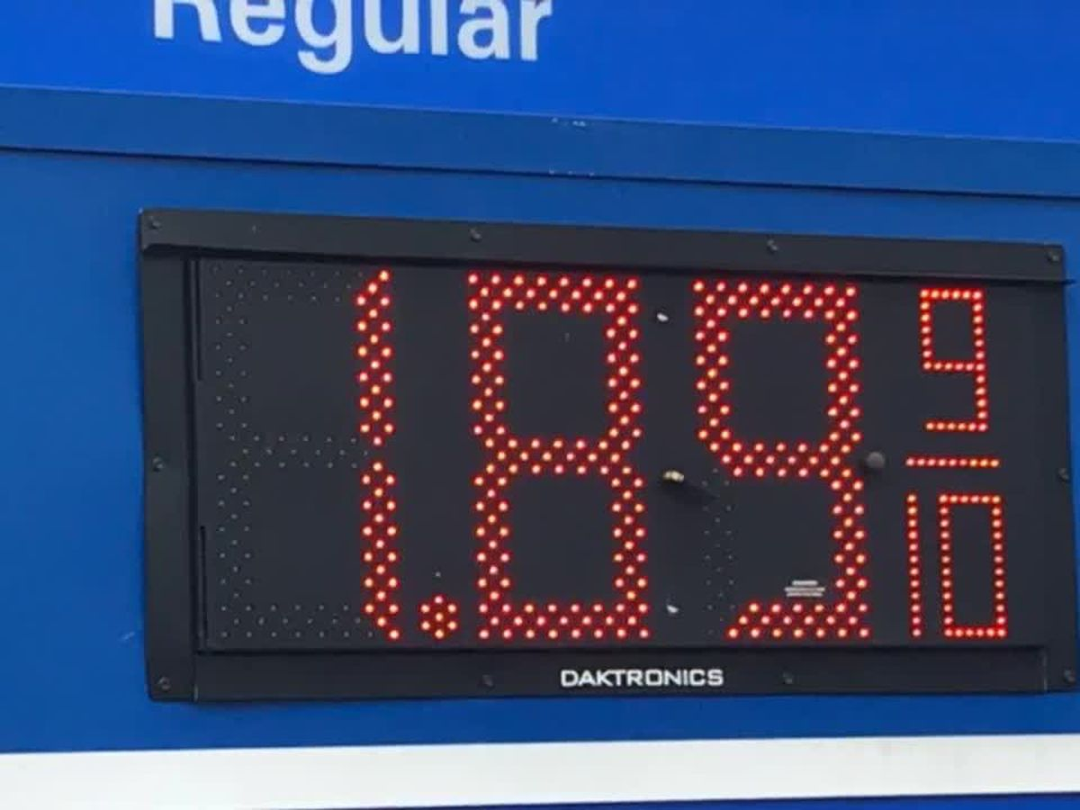 WEBEXTRA: East Texans react to dropping gas prices
