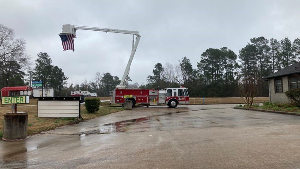 Funeral service held for second of three Sabine County firefighters