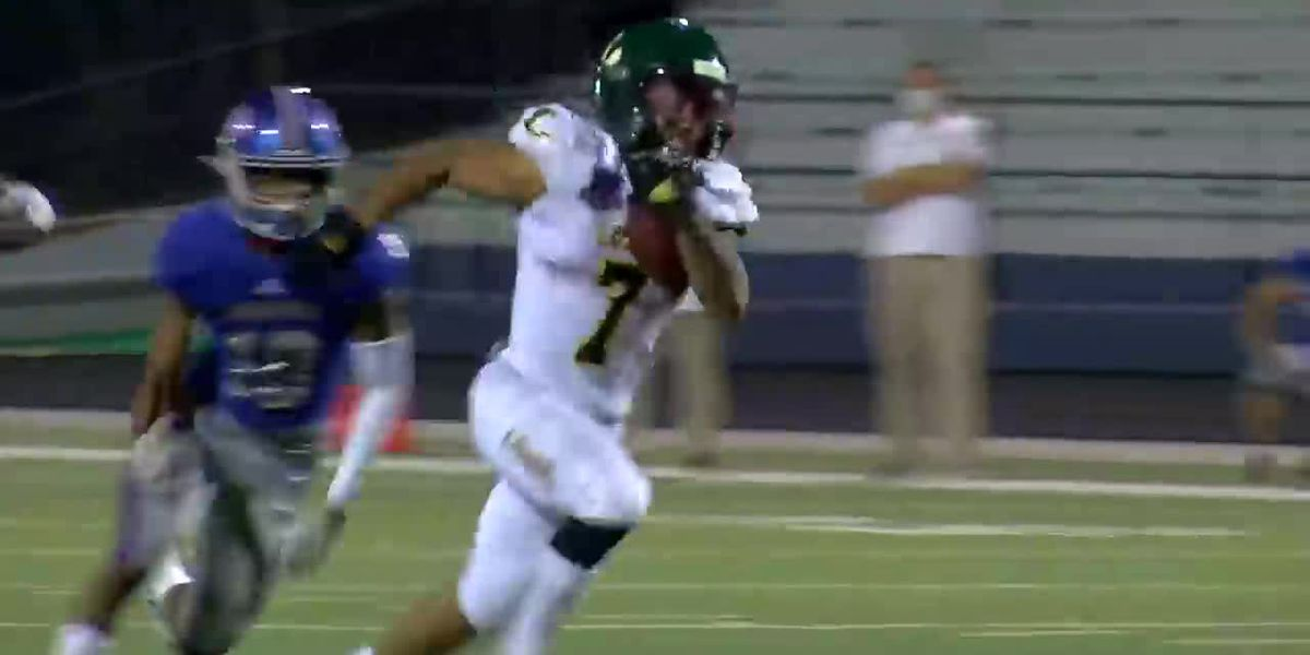 WATCH: Kaden Meredith goes nearly untouched on 2 touchdowns in 240-yard performance