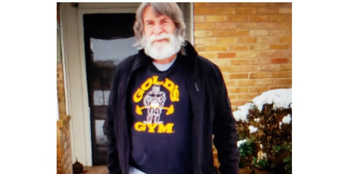 Tyler police searching for missing man with dementia