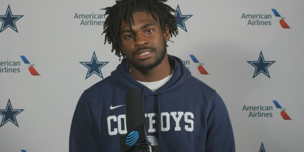 Cowboys rookie Trevon Diggs using brother to help prepare for first season