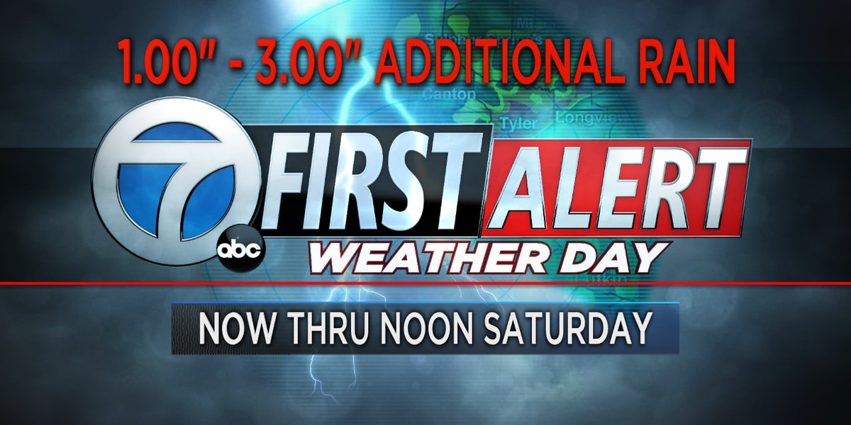 First Alert Weather Day in effect through noon Saturday