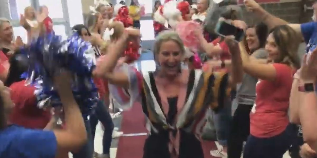 VIDEO: Kilgore Middle School teachers are so excited about back to school, they made a lip-sync video