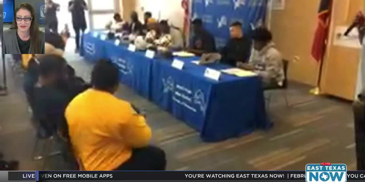 VIDEO: Signing Day at John Tyler High School
