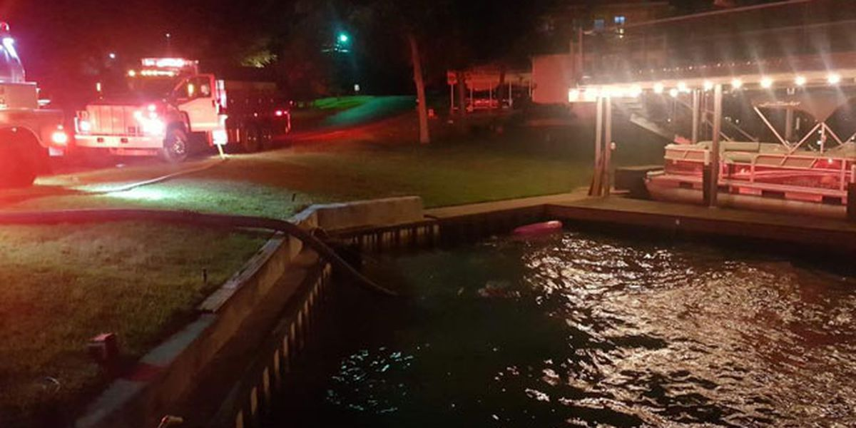 Henderson County fire crews battle 2 structure fires, rescue kayaker at same scene