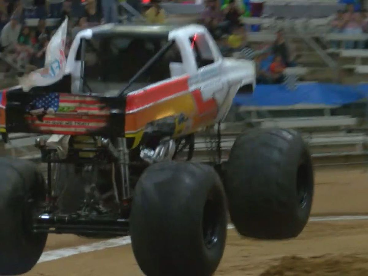 Monster Trucks invade Lufkin for annual Mechanical Mayhem show
