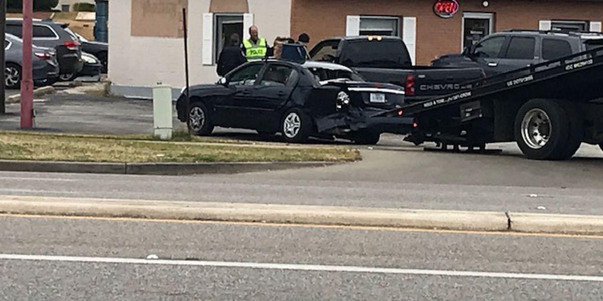 Tyler crews responded to crash on S.Broadway Avenue