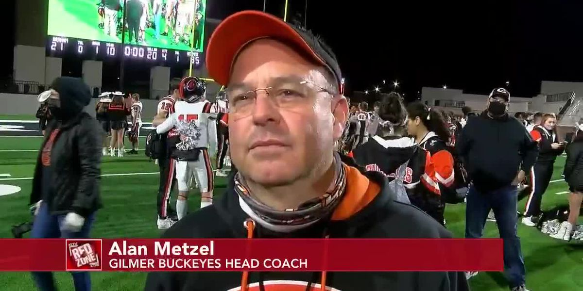 2020 Week 16 Coach Interview: Gilmer Head Coach Alan Metzel