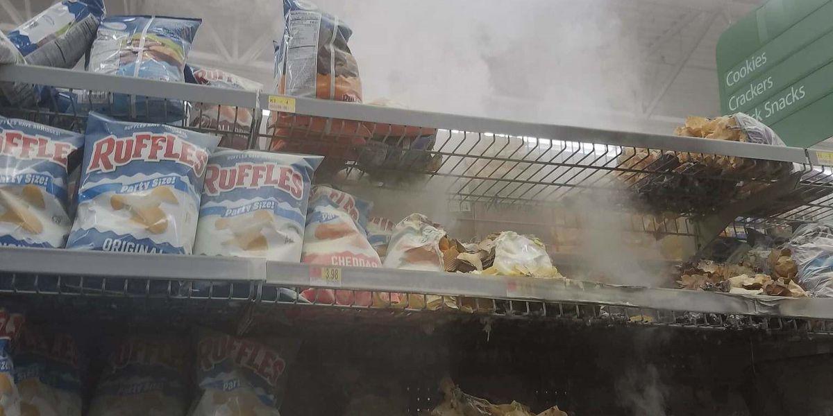 Lufkin police release photo of suspect in Walmart arson case
