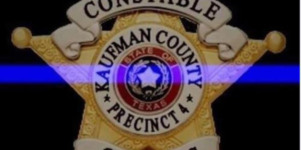 Kaufman County constable dies of massive heart attack while on duty