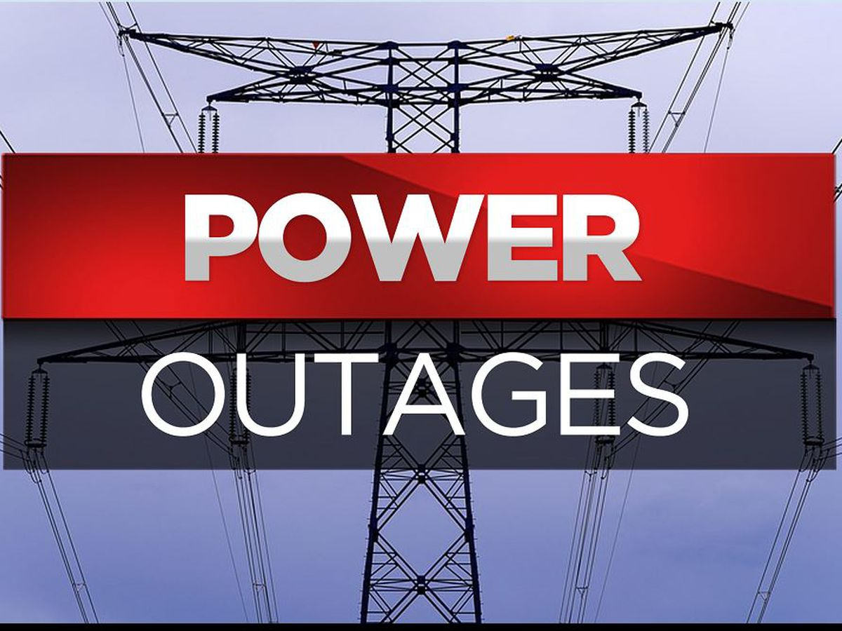Numerous East Texas counties dealing with power outages after storm hits area