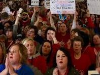 Almost all West Virginia public schools closed as teachers strike for 2nd time in 2 years