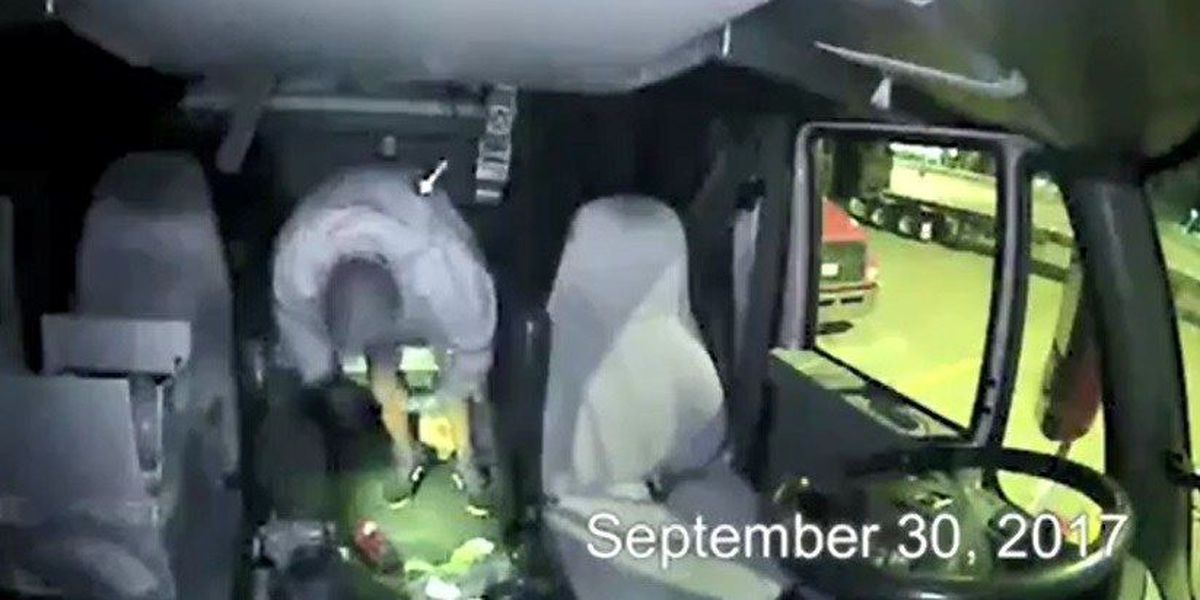 VIDEO: Marshall police searching for thieves who stole semi-trailers
