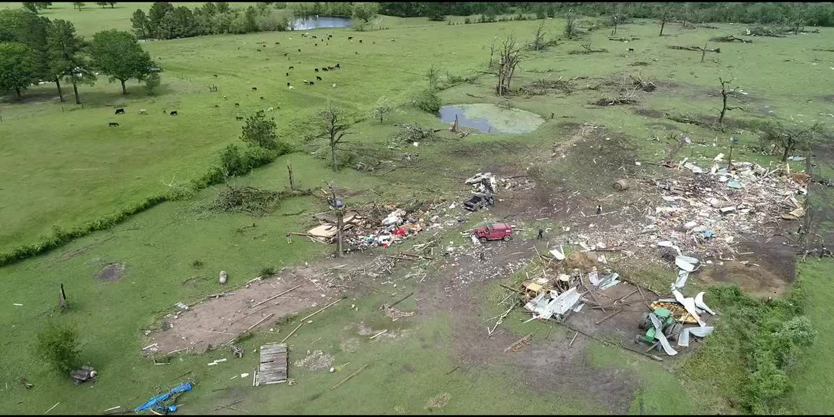 NWS confirms 3 tornadoes touched down in Houston County